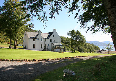 Lady Claire MacDOnald's House - Kinloch Lodge.